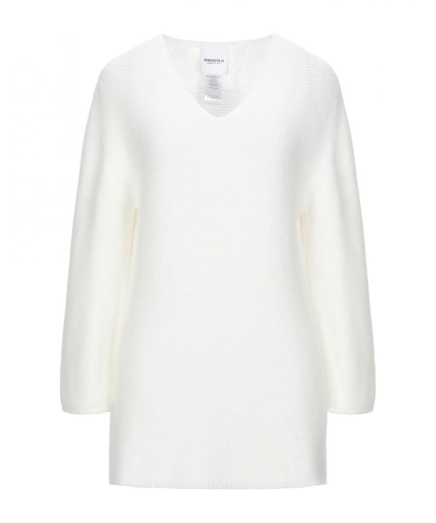 Image for Annarita N Twenty 4H White Angora Knit Jumper