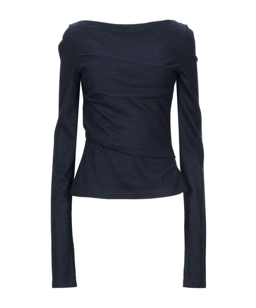 Image for Cedric Charlier Dark Blue Wool Jumper