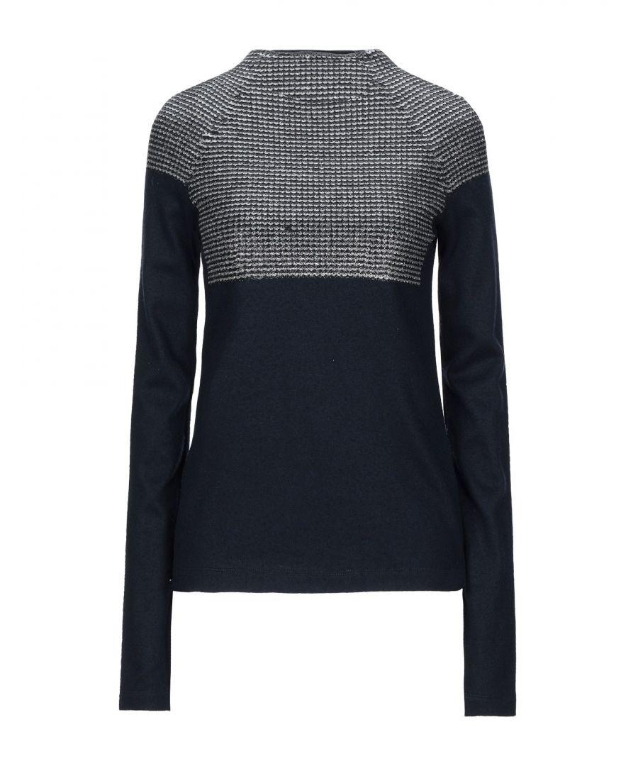 Image for Cedric Charlier Dark Blue Wool Knit Jumper