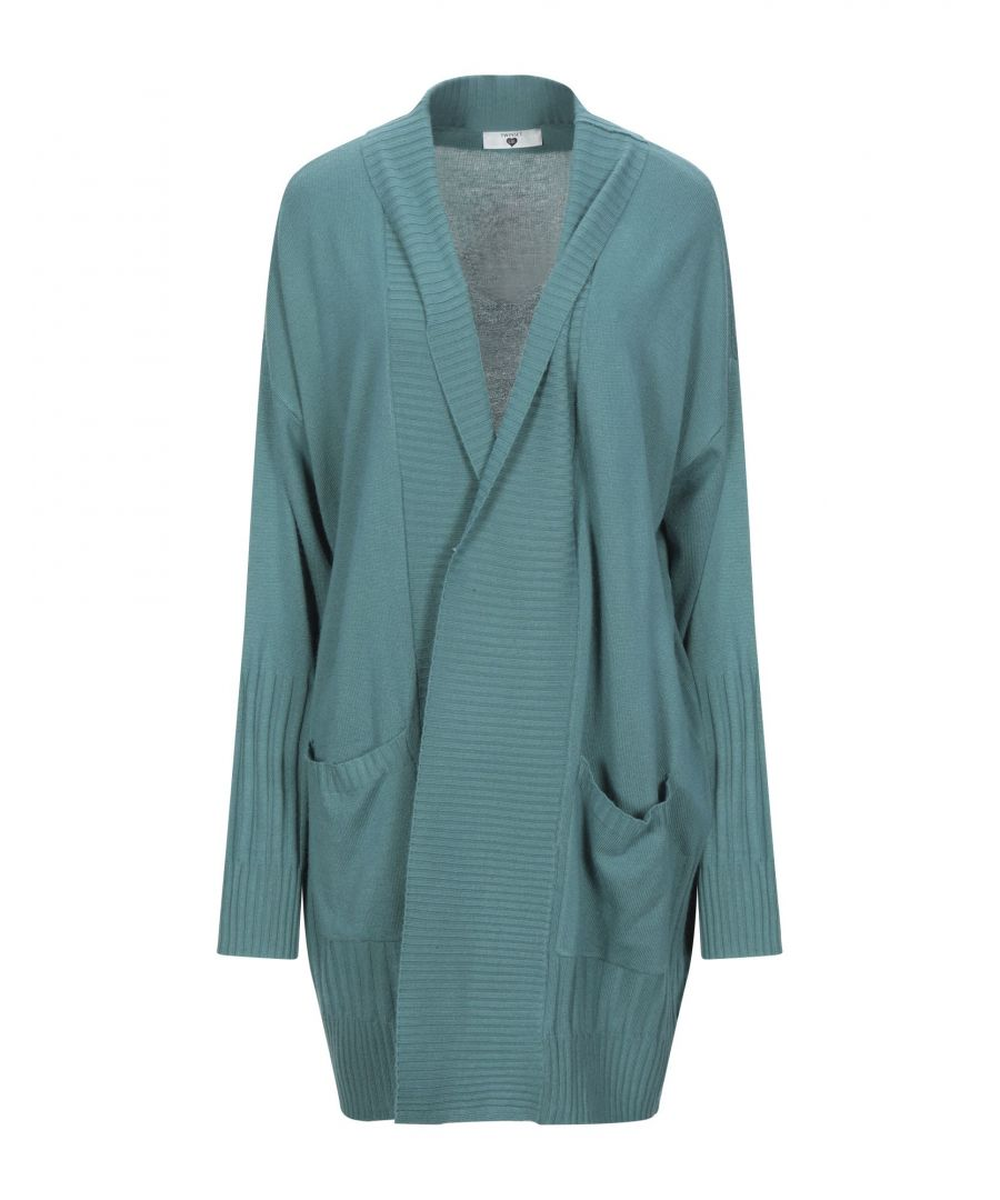 Image for Twinset Green Knit Cardigan