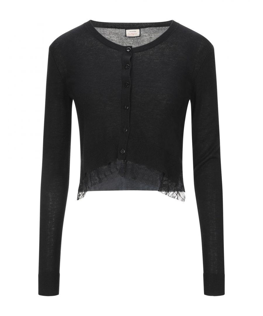 Image for Nenette Woman Wrap cardigans Black Viscose