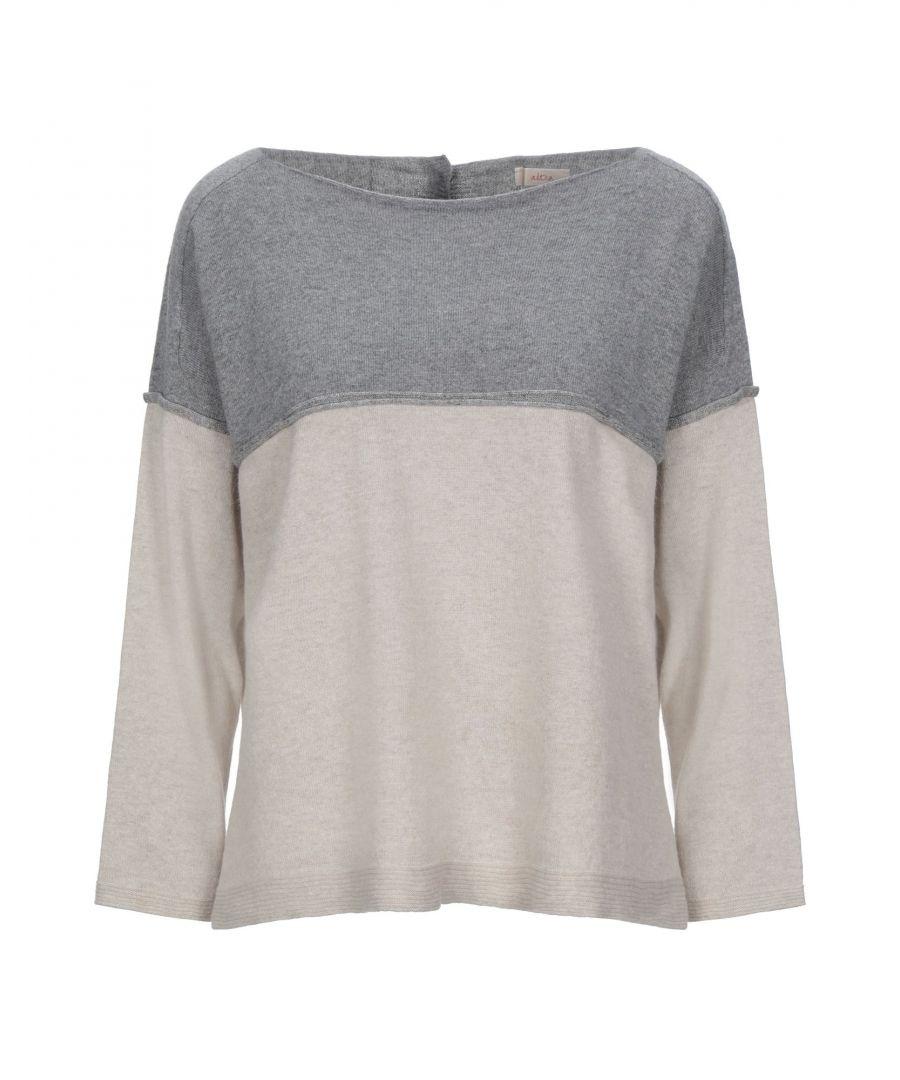 Image for Altea Grey Virgin Wool Knit Jumper