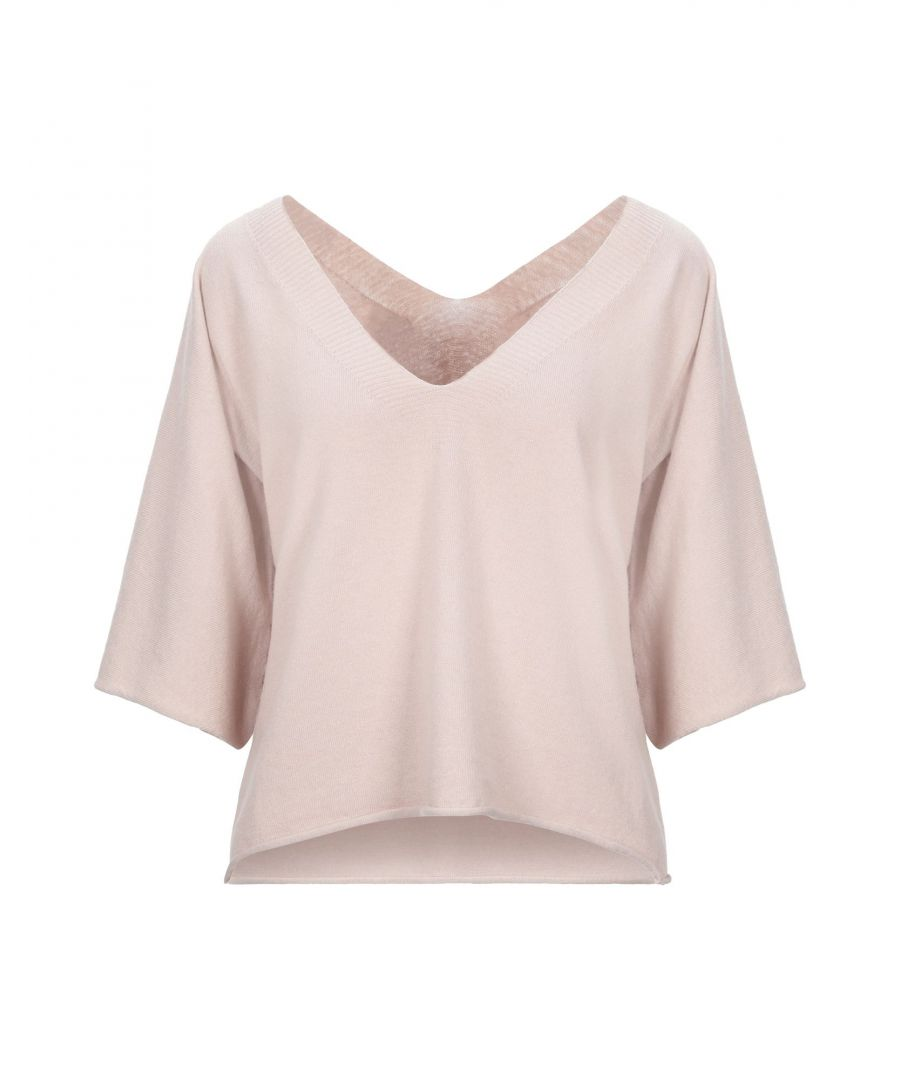 Image for Vicolo Light Pink Lightweight Knit Jumper