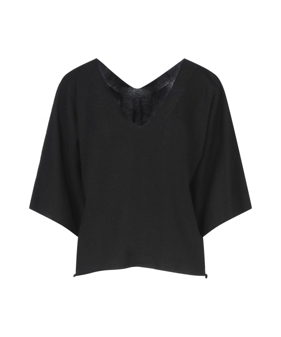 Image for Vicolo Black Lightweight Knit Jumper