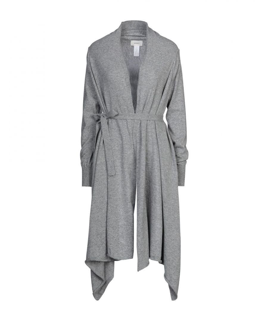 Image for Vicolo Grey Lightweight Knit Cardigan