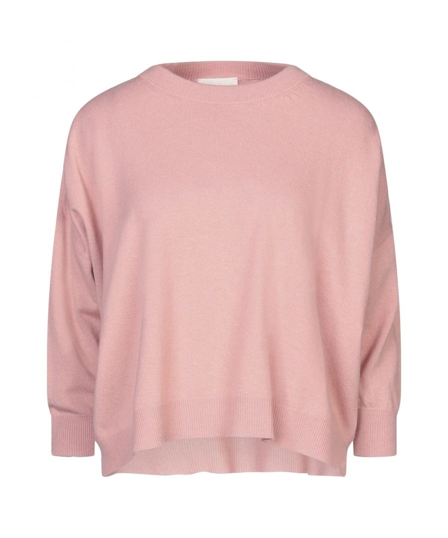 Image for Vicolo Salmon Pink Lightweight Knit Jumper