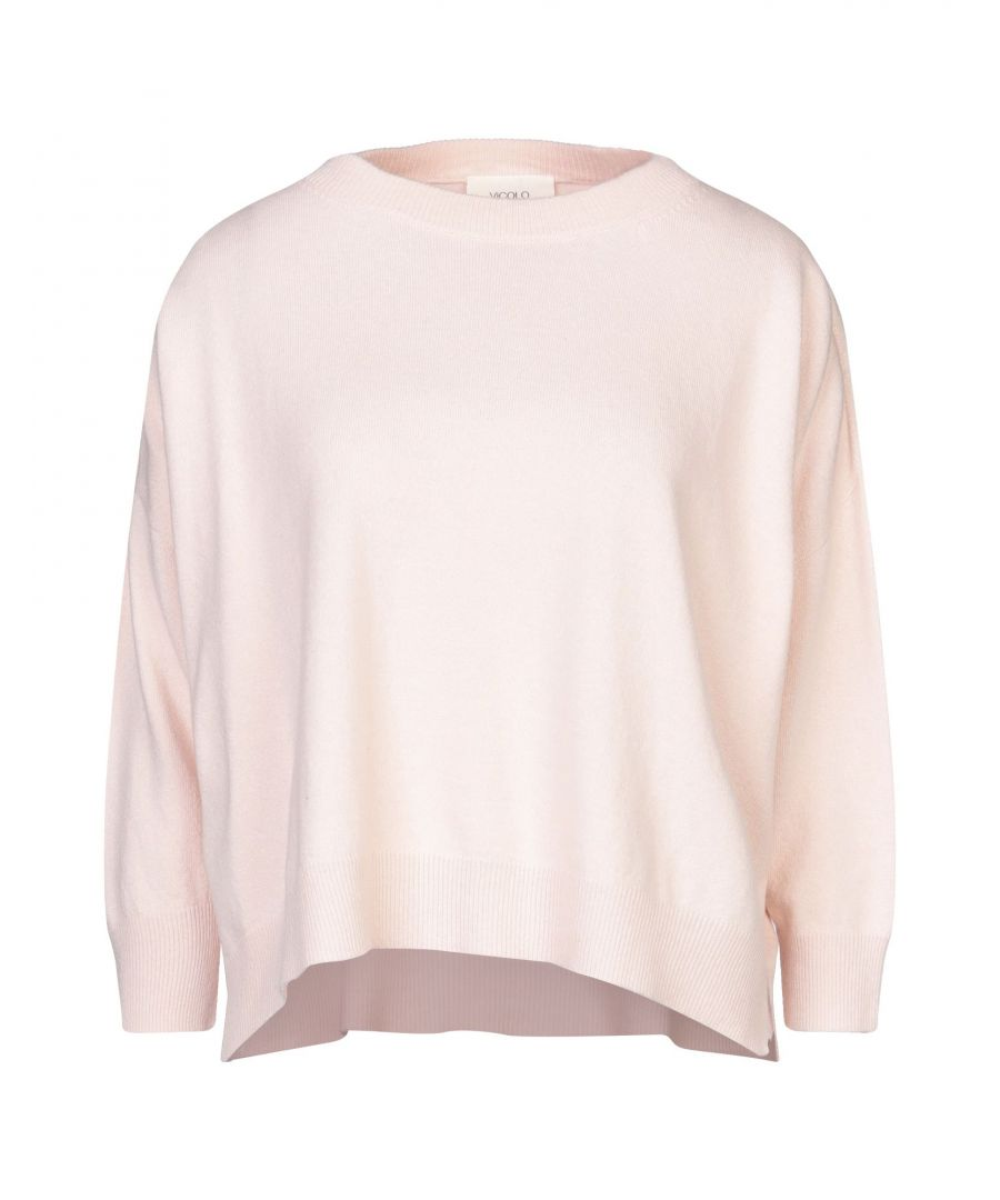 Image for Vicolo Pink Lightweight Knit Jumper