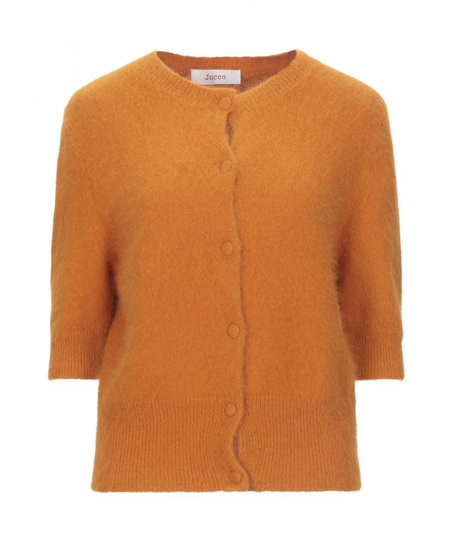 Image for Jucca Ochre Angora Cardigan