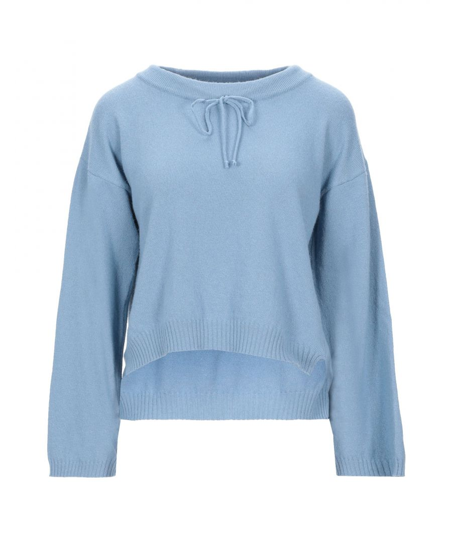 Image for Vicolo Pastel Blue Lightweight Knit Jumper