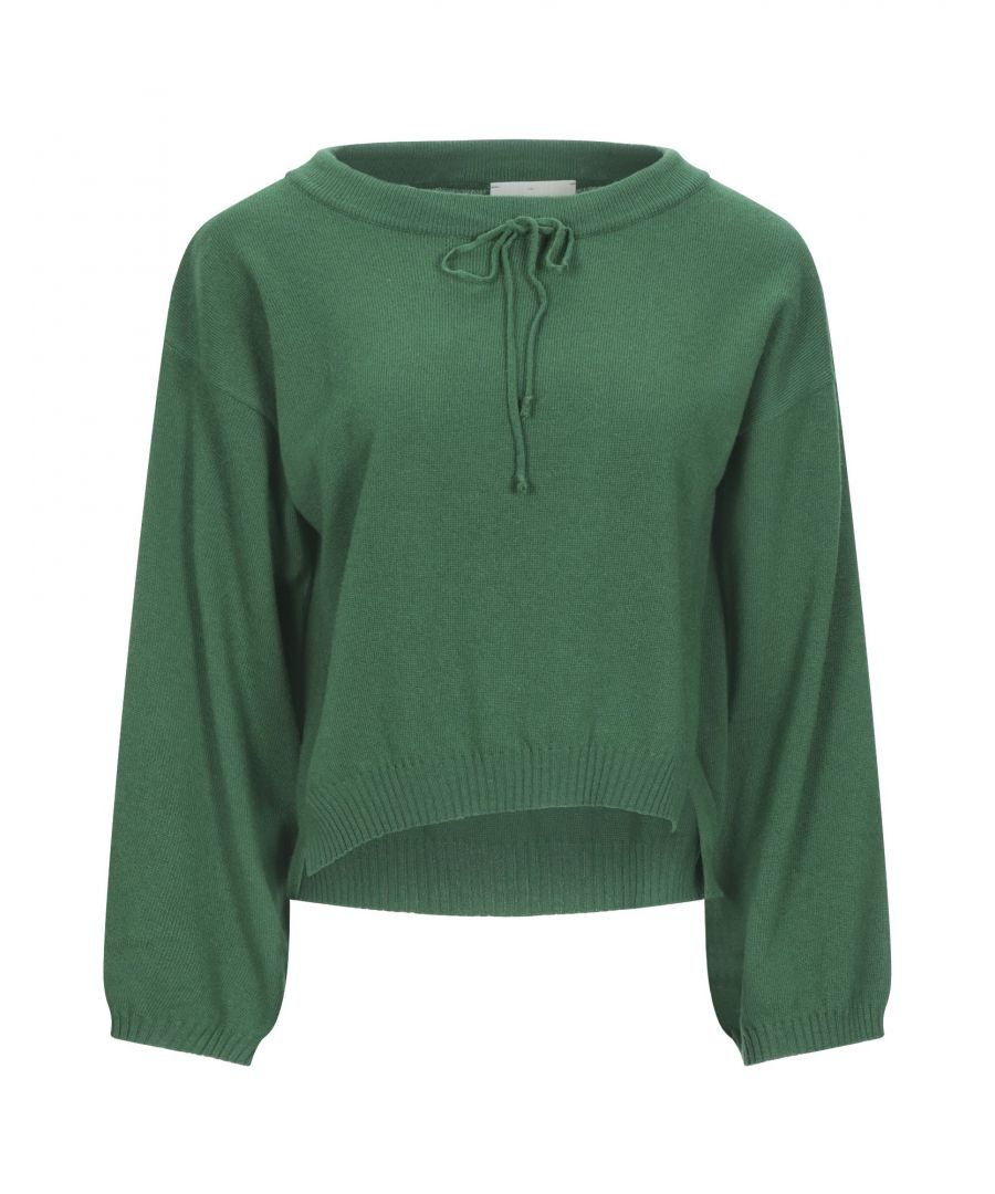 Image for Vicolo Green Lightweight Knit Jumper