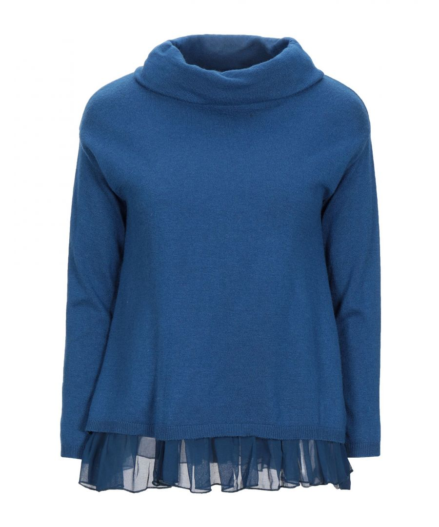 Image for KNITWEAR Woman Fracomina Blue Nylon