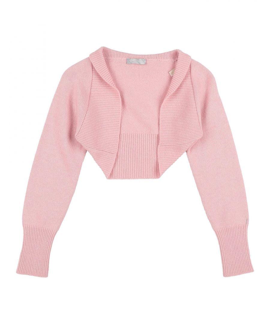 Image for I Pinco Pallino Girl Wrap cardigans Light pink Wool