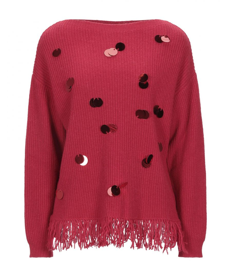Image for Kaos Red Sequin Knit Jumper