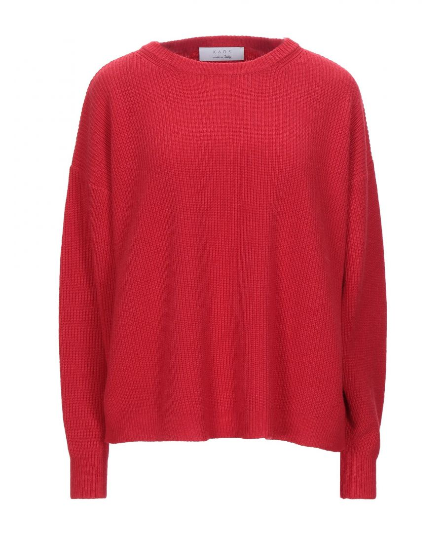 Image for Kaos Red Lightweight Knit Jumper