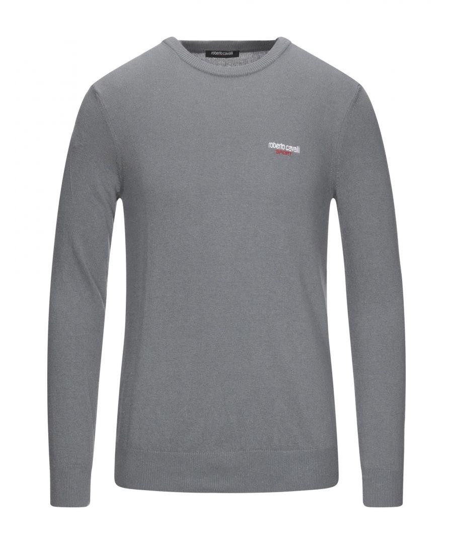 Image for Roberto Cavalli Sport Man Jumpers Grey Polyamid