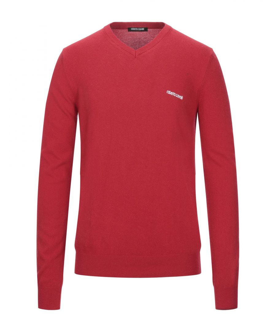 Image for Roberto Cavalli Sport Red Jumper