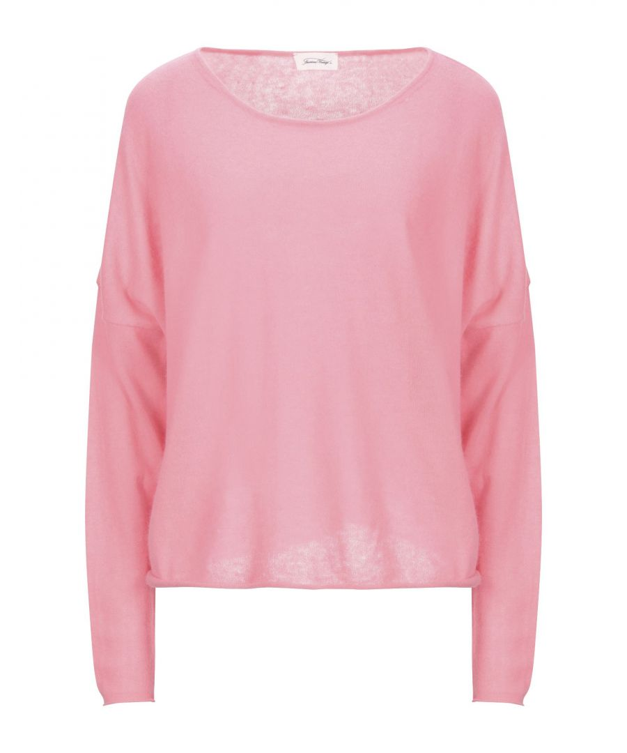Image for KNITWEAR American Vintage Pink Woman Angora
