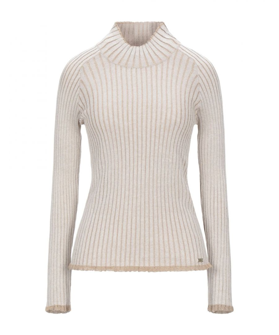 Image for Nenette Beige Lightweight Knit Jumper