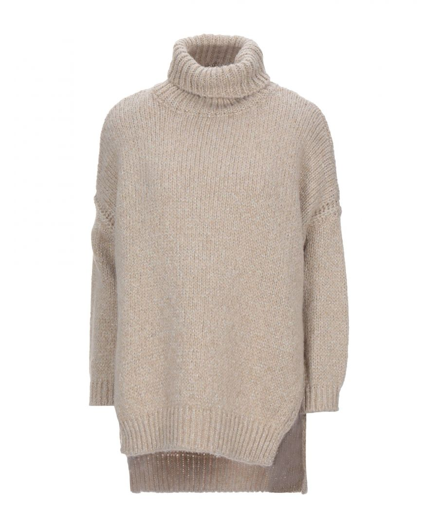 Image for Nenette Woman Turtlenecks Beige Acrilyc