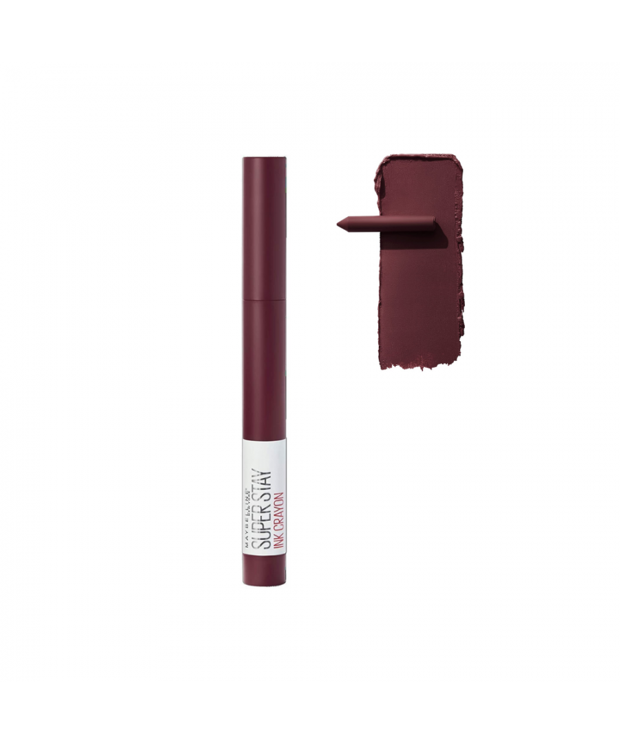 Image for Maybelline New York Superstay Ink Crayon - 65 Settle For More