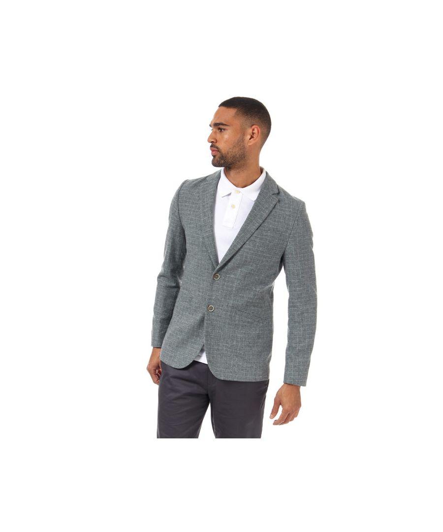 Image for Men's Ted Baker Zolla Cross Hatch Jacket in Grey