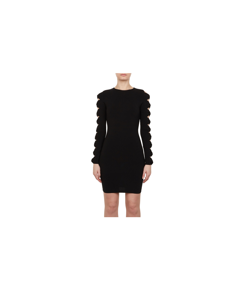 Image for Ted Baker Jayney Knitted Sleeve Detail Bodycon, Black