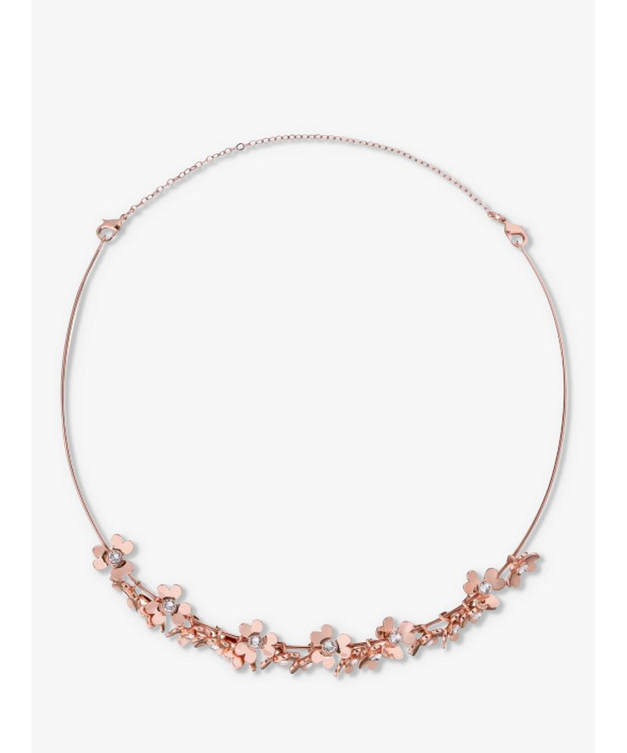 Image for Ted Baker Hadriaa Tbj1859 Heart Blossom Tiara, Rose Gold