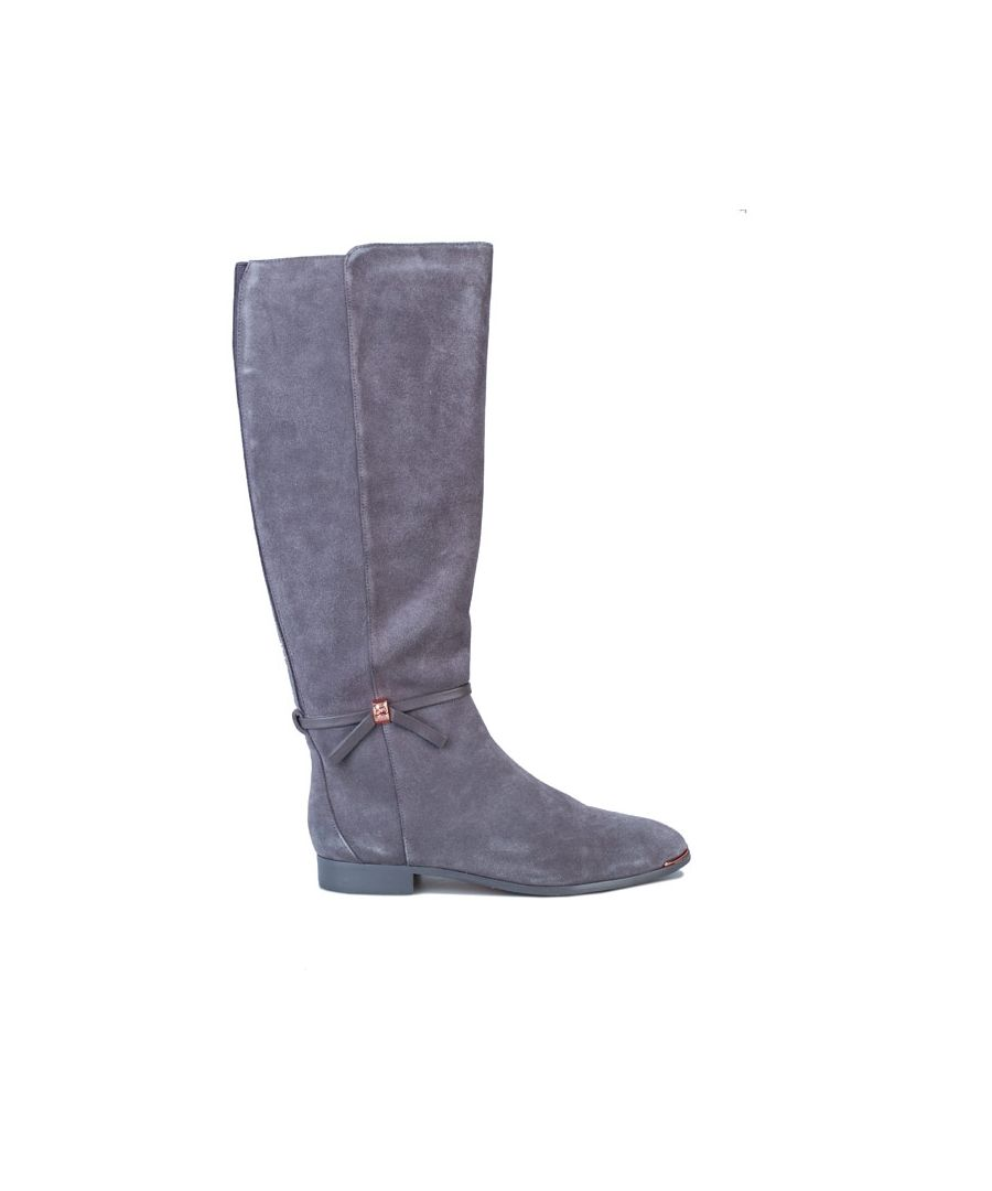 Image for Women's Ted Baker Lykla Knee High Boots in Grey