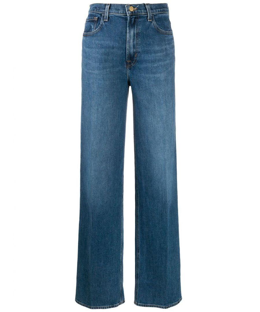 Image for J BRAND WOMEN'S JB002662J45727 BLUE COTTON JEANS