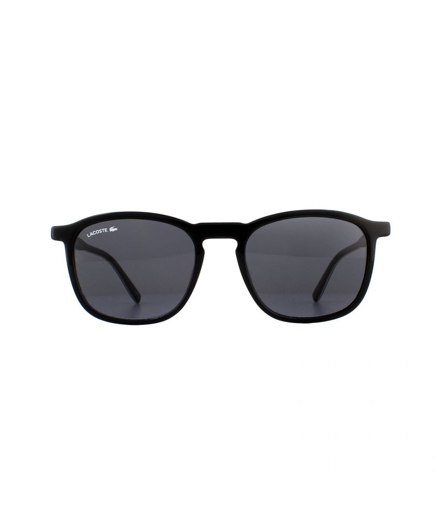 Image for Lacoste Sunglasses L901S 001 Black White Green Grey