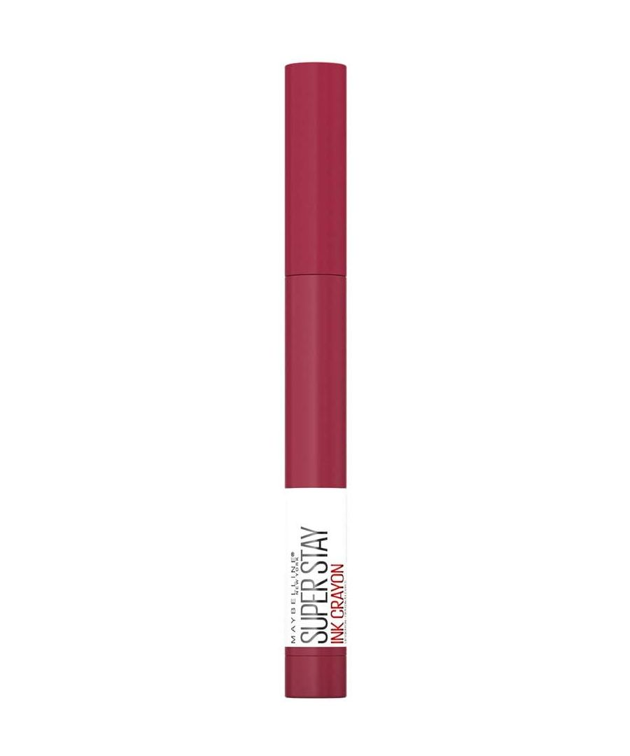 Image for Maybelline New York Superstay Ink Crayon - 75 Speak Your Mind