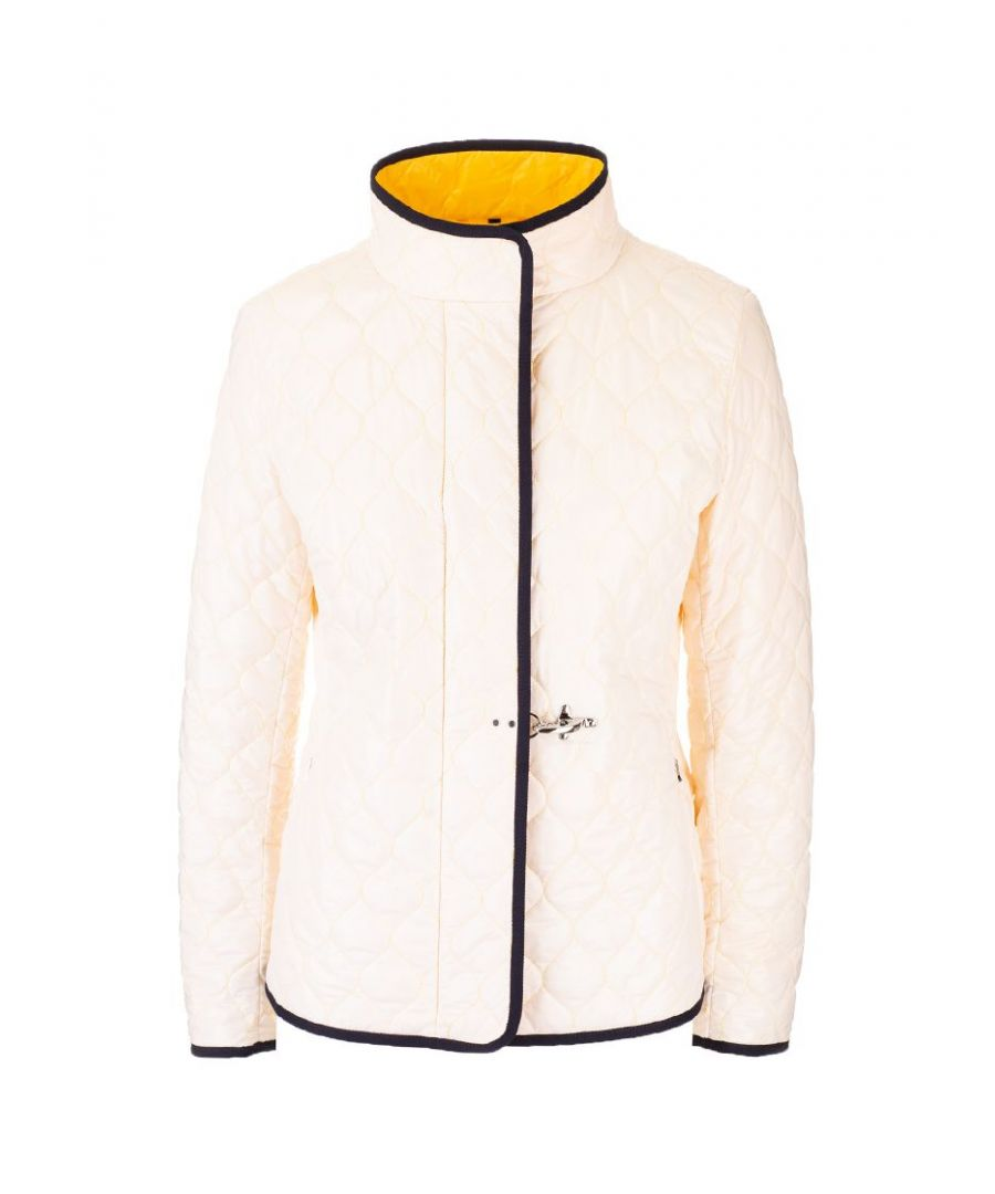 Image for FAY WOMEN'S NAW22403200RPQ4558 WHITE POLYESTER DOWN JACKET