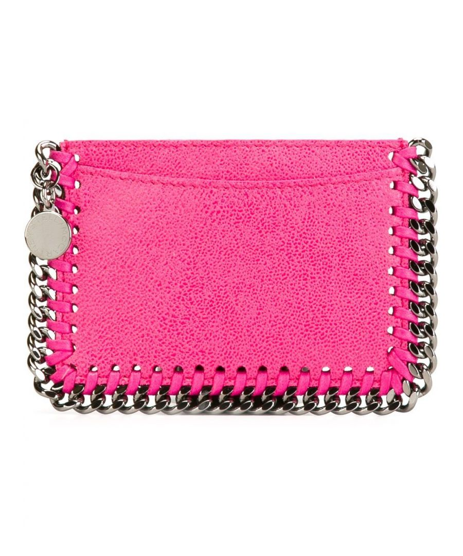 Image for STELLA MCCARTNEY WOMEN'S 371371W91325600 FUCHSIA POLYESTER CARD HOLDER