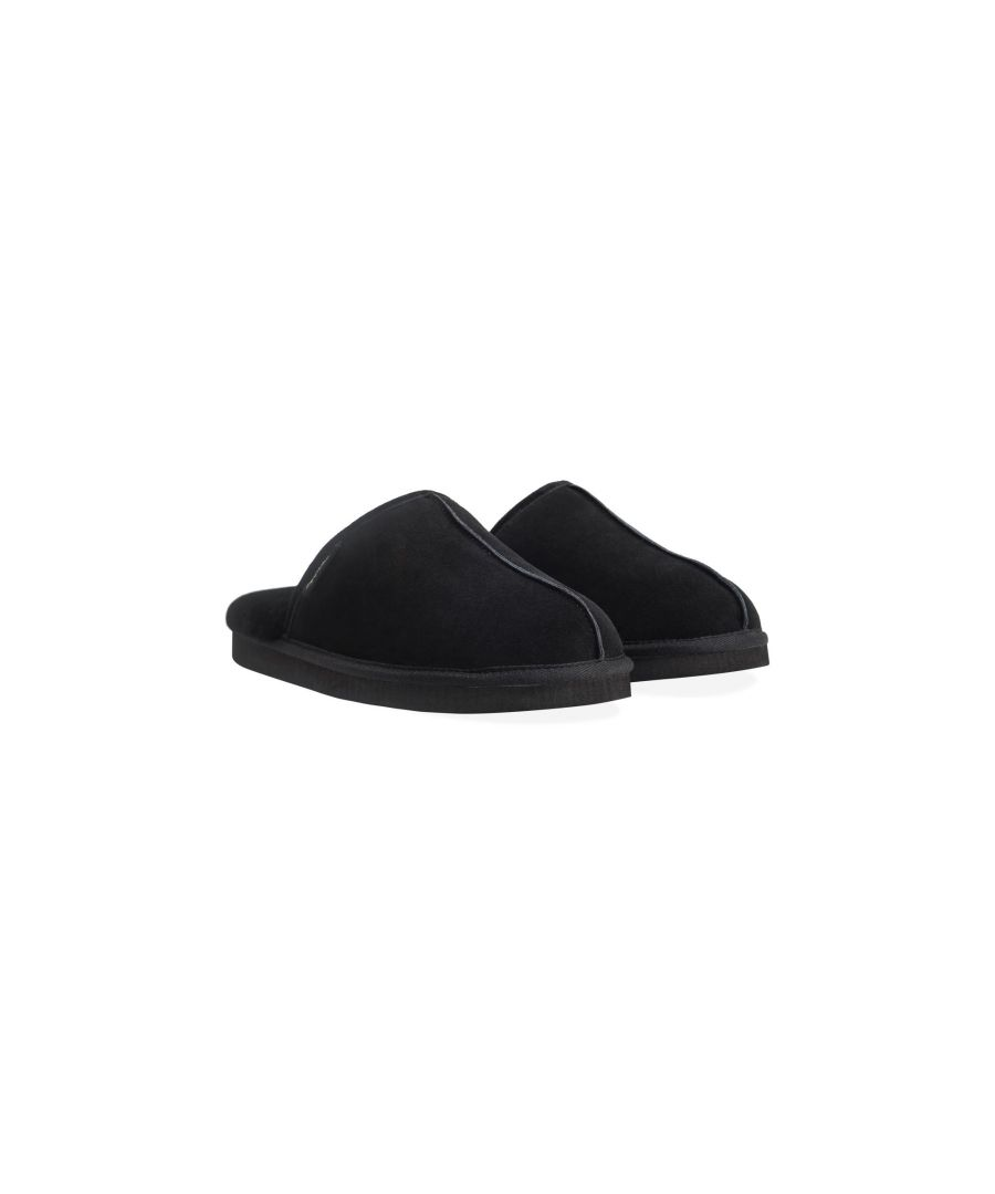 Image for Redfoot Allen Black Slippers