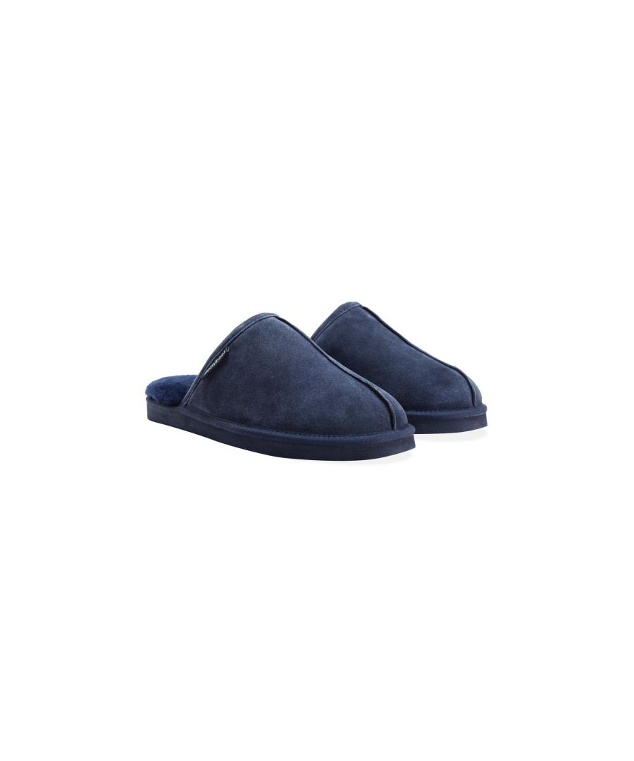 Image for Redfoot Allen Navy Slippers
