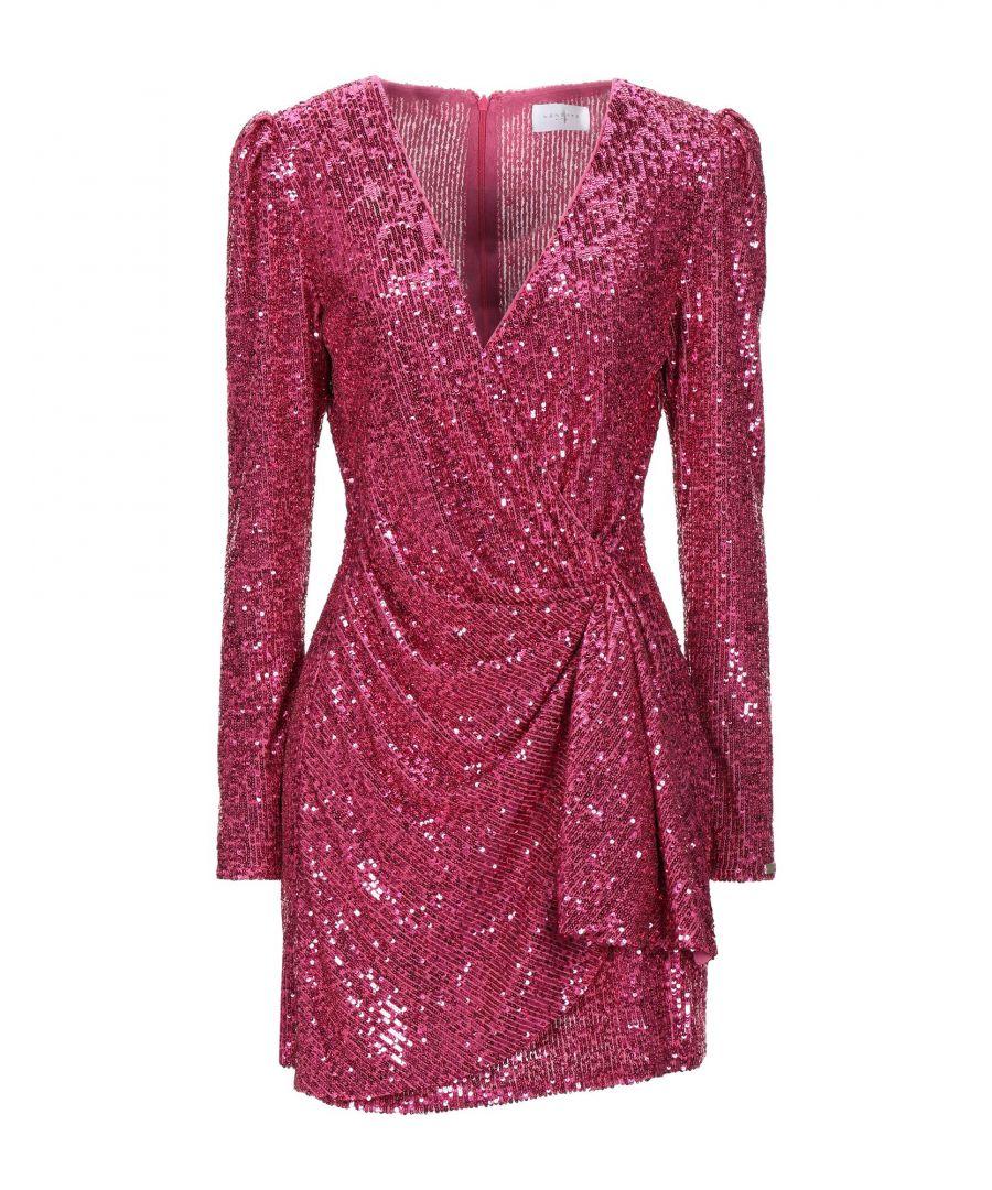 Image for Nenette Fuchsia Sequinned Dress