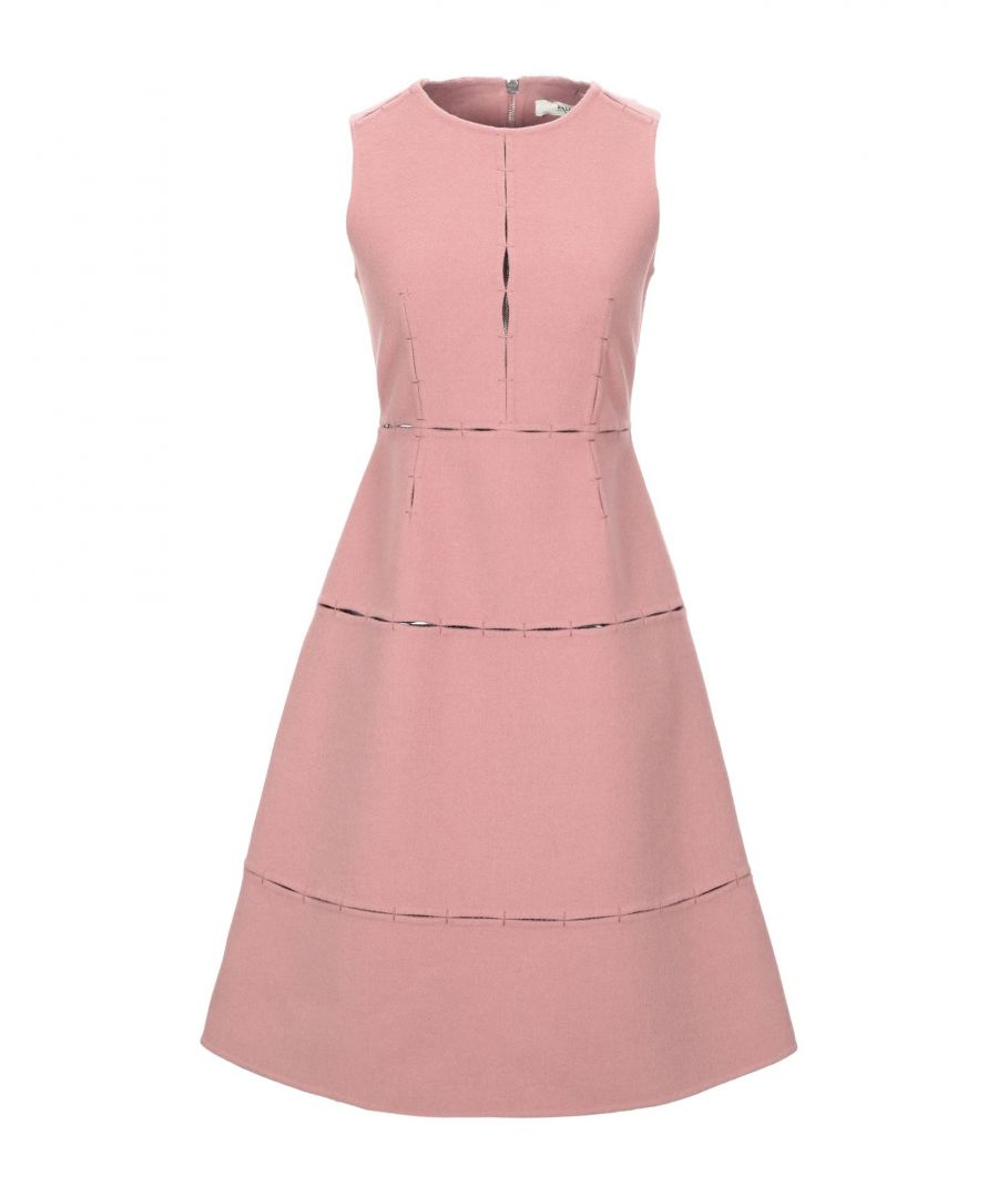 Image for Bally Pastel Pink Virgin Wool Dress