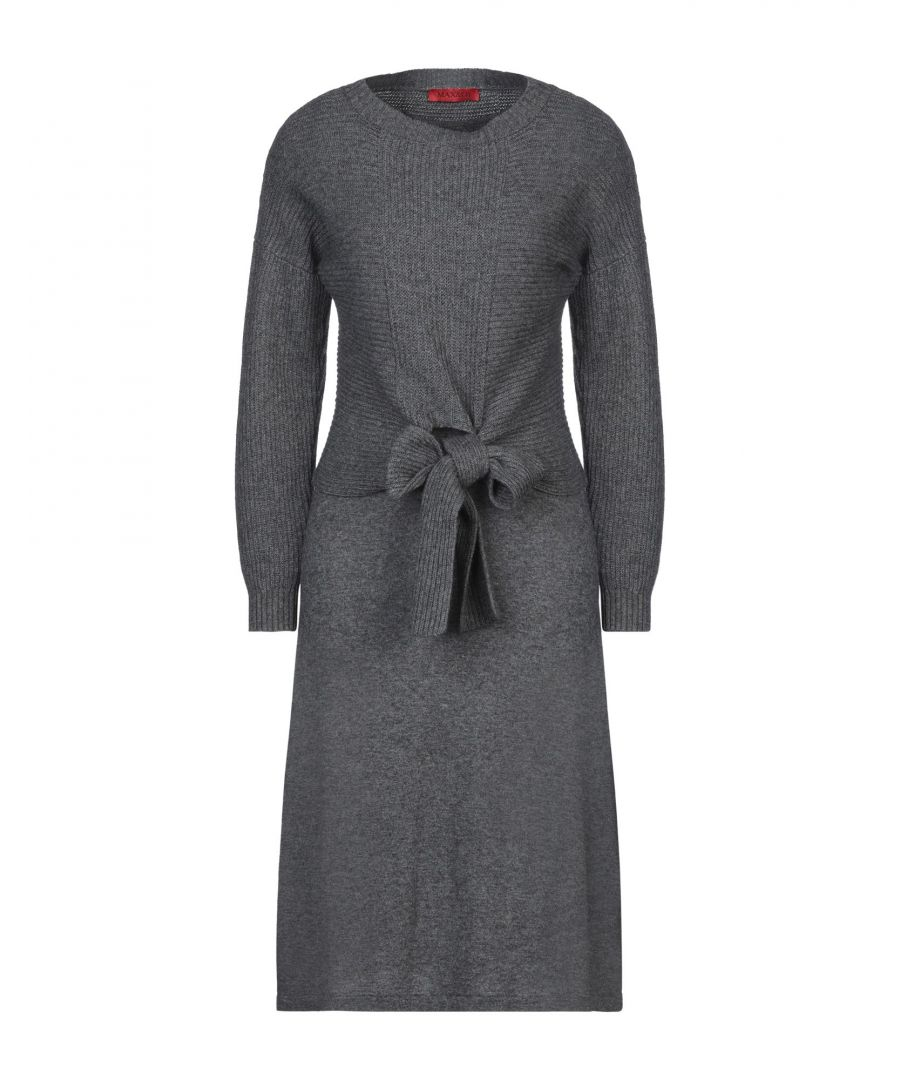 Image for Max & Co. Grey Long Sleeve Dress