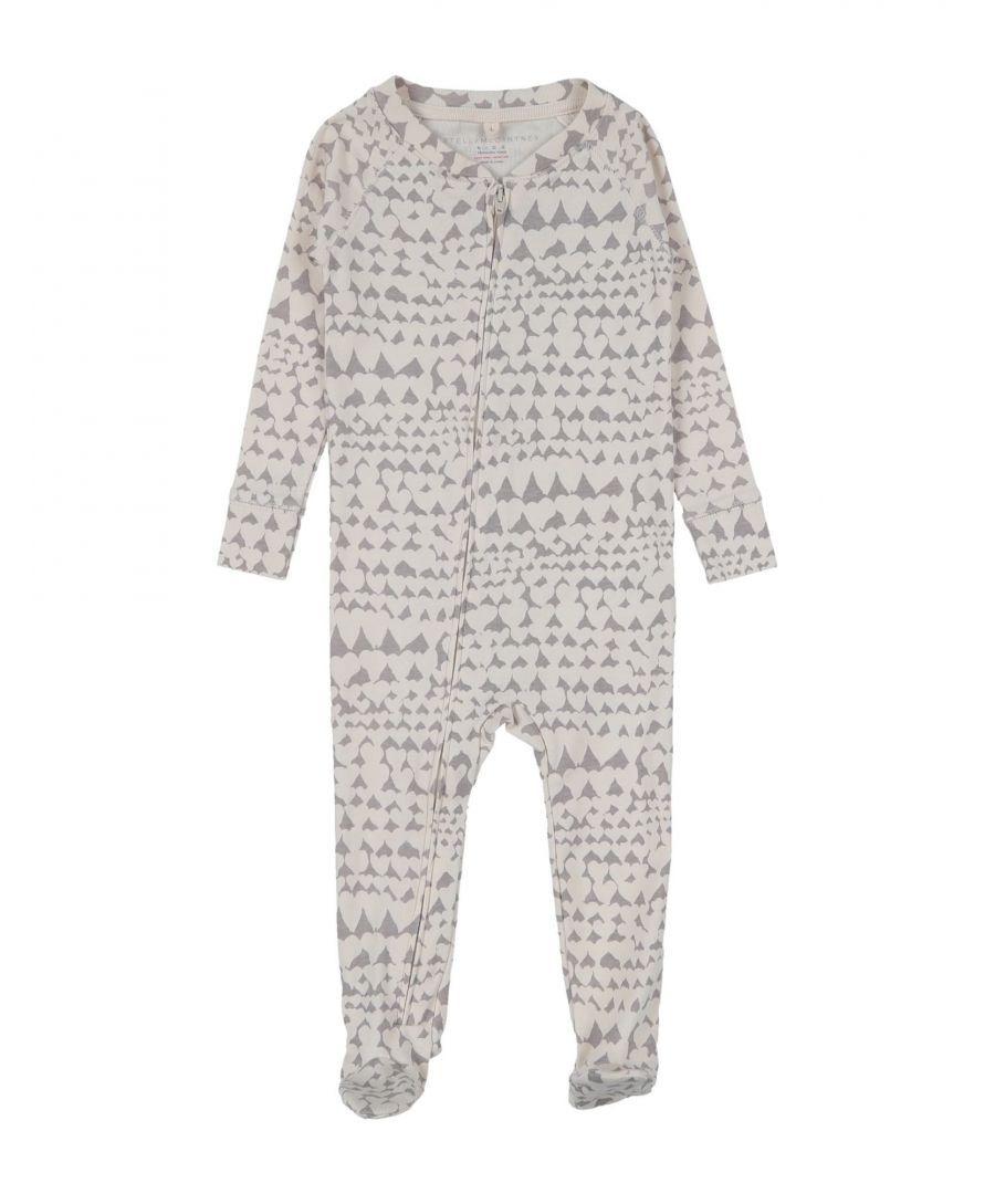 Image for BODYSUITS & SETS Unisex Stella Mccartney Kids Beige Cotton