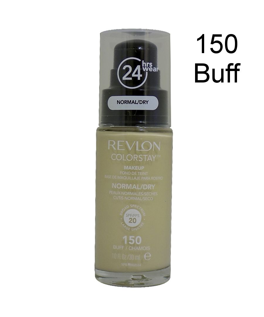 Image for Revlon Colorstay Pump 24HR Make Up SPF20 Norm/Dry Skin 30ml - 150 Buff