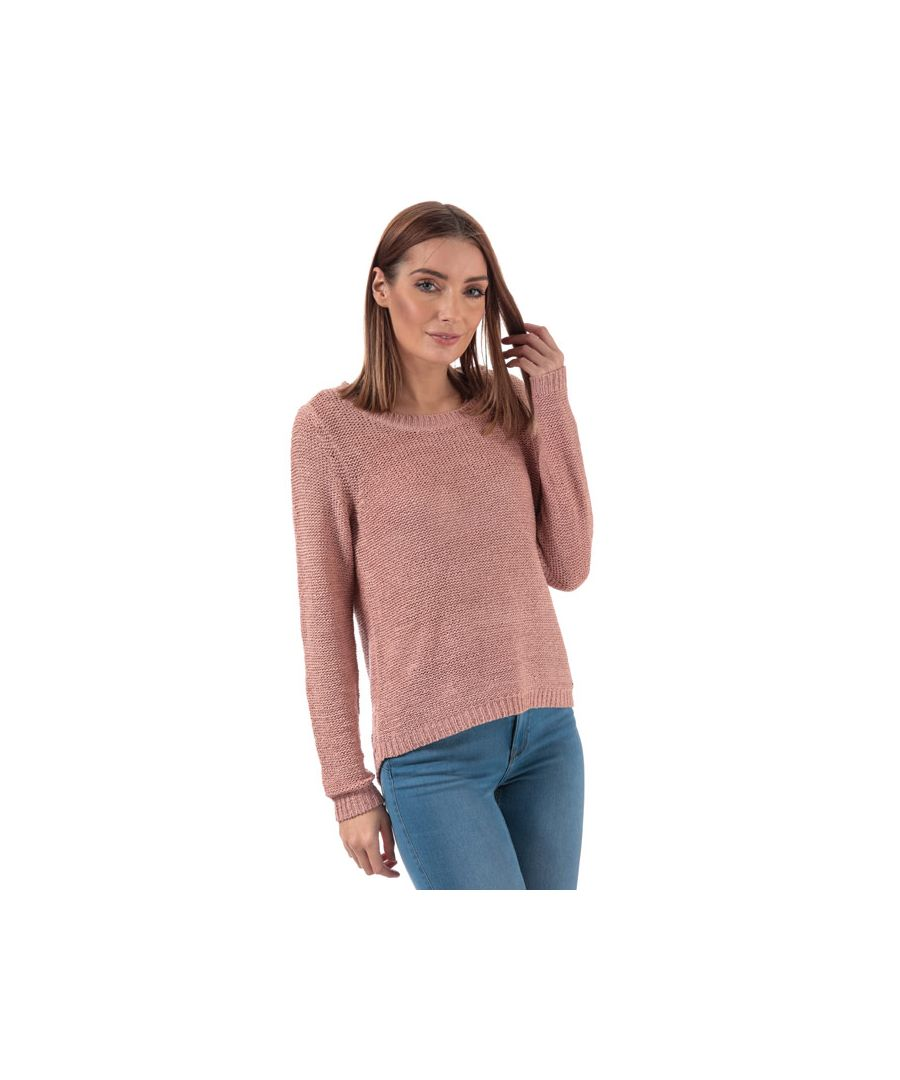 Image for Women's Only Geena Longline Jumper in Rose