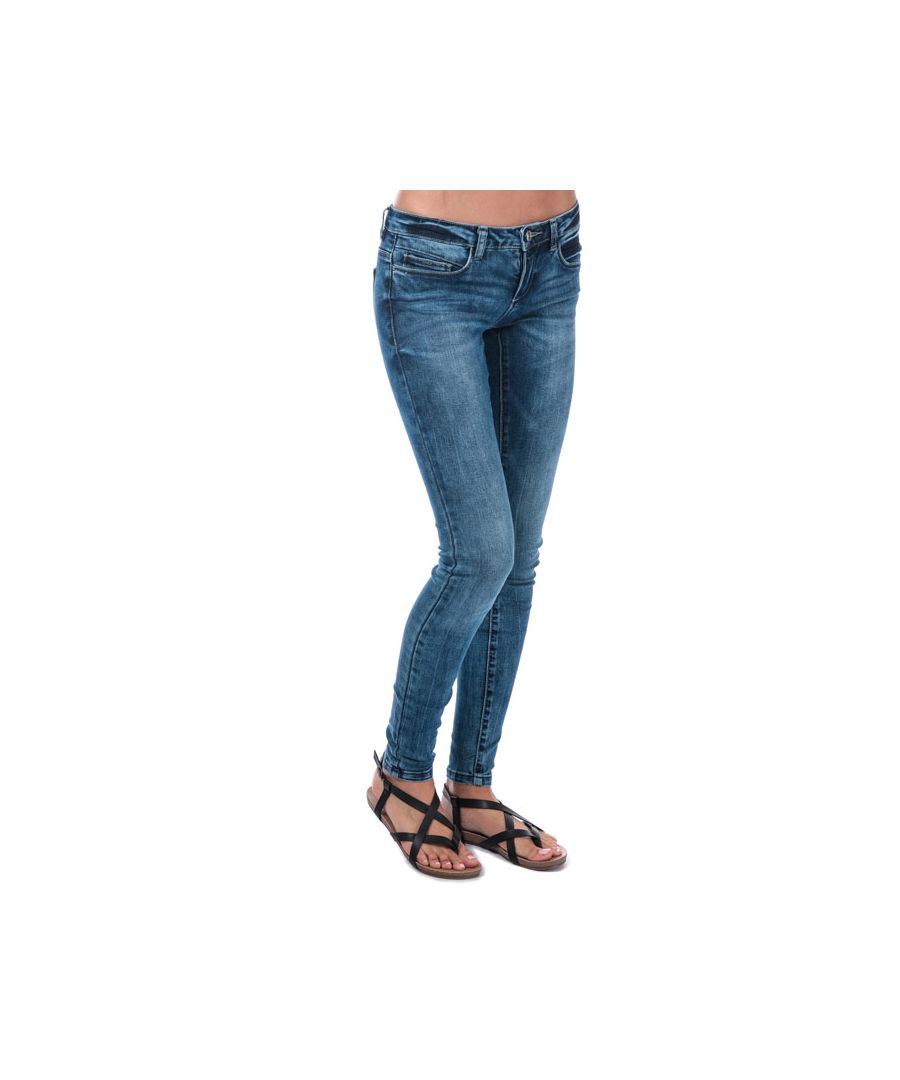 Image for Women's Only Coral Low Skinny Jeans in Denim