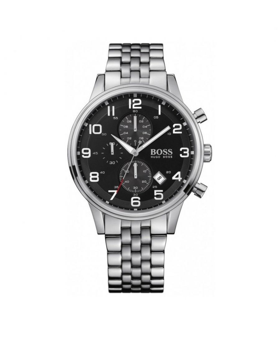 Image for Hugo Boss Mens' Chronograph Watch 1512446