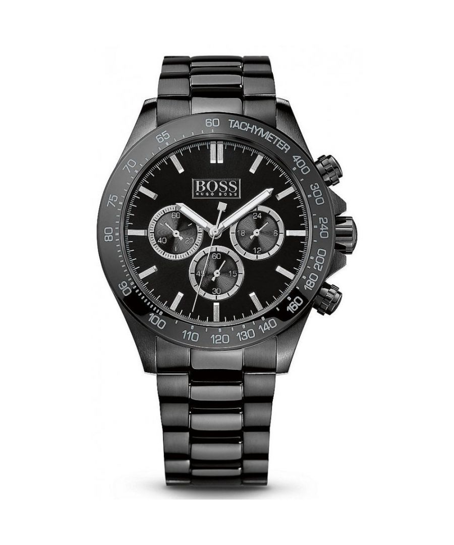 Image for Hugo Boss Mens' Ikon Chronograph Watch 1512961
