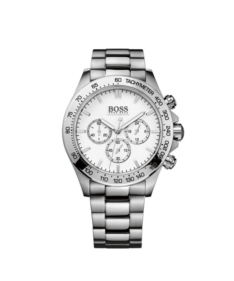 Image for Hugo Boss Mens' Ikon Chronograph Watch 1512962