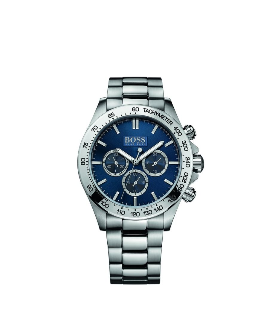 Image for Hugo Boss Mens' Ikon Chronograph Watch 1512963