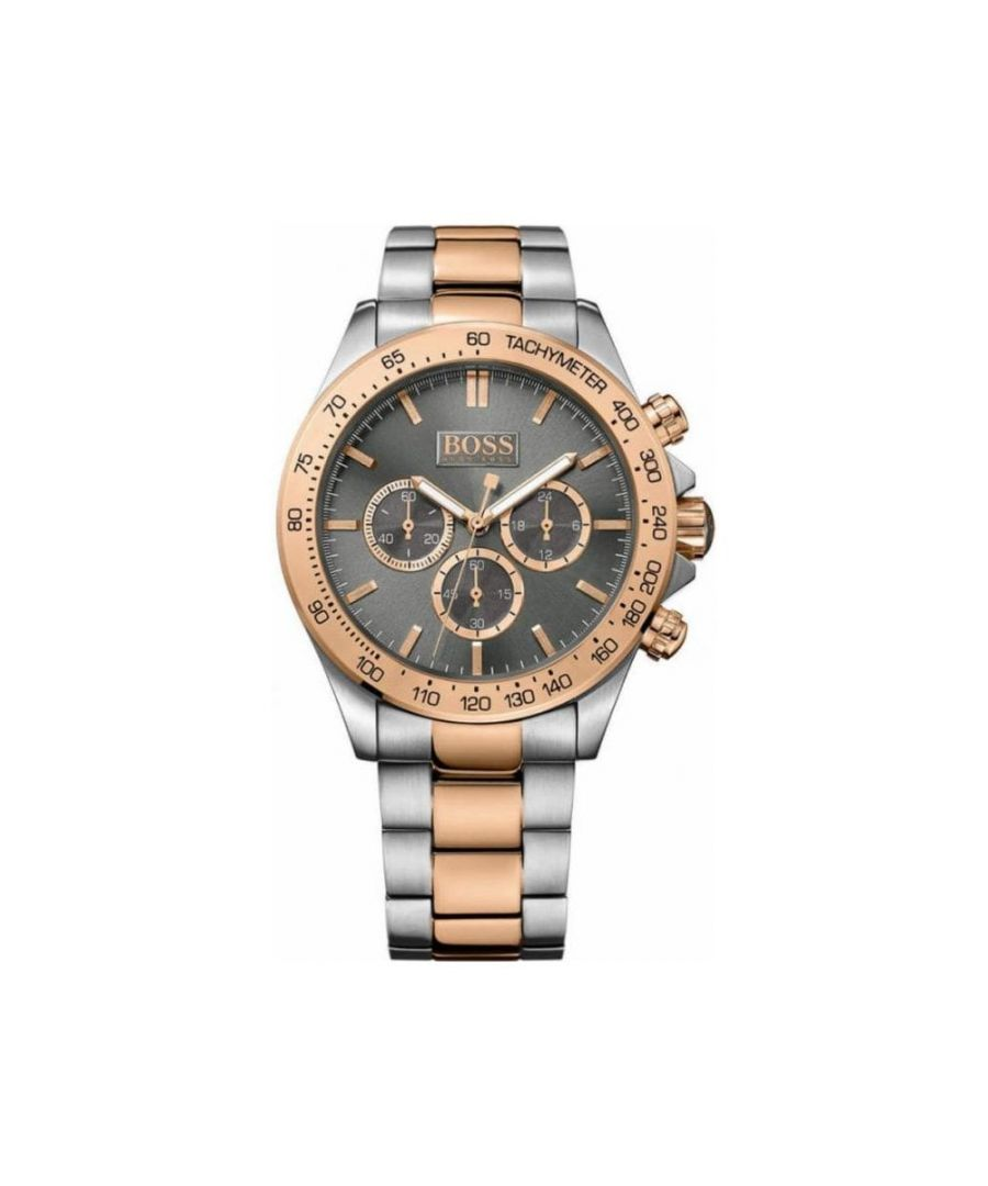 Image for Hugo Boss Mens' Ikon Chronograph Watch 1513339