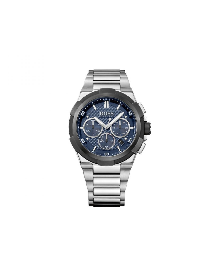 Image for Hugo Boss Mens' Supernova Chronograph Watch 1513360