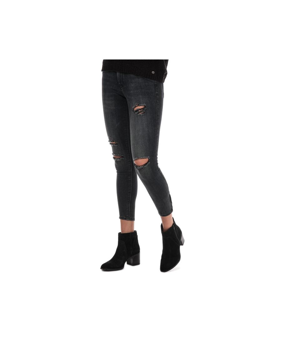 Image for Women's Only Kendell Life Skinny Ankle Zip Jeans in Grey
