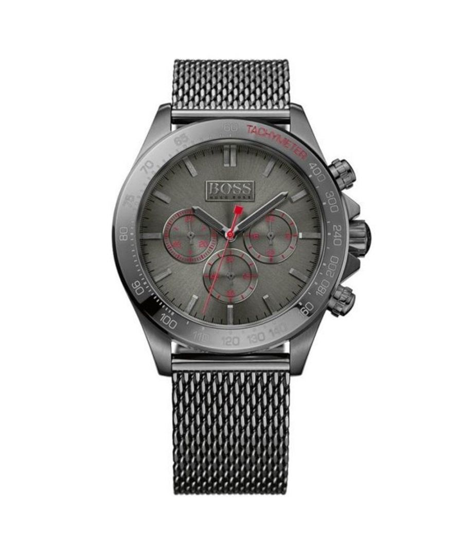 Image for Hugo Boss Mens' Ikon Chronograph Watch 1513443